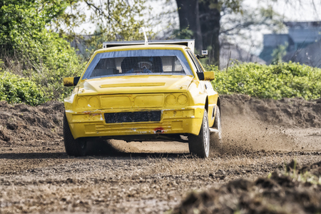 cross: autocross car race