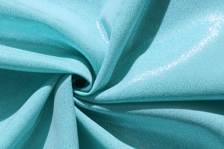 shiny fabric structure