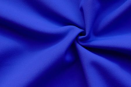blue fabric structure Foto de archivo