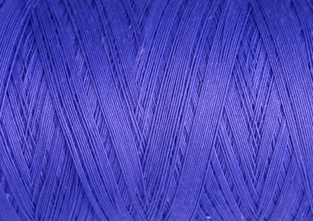 texture of sewing thread in spool