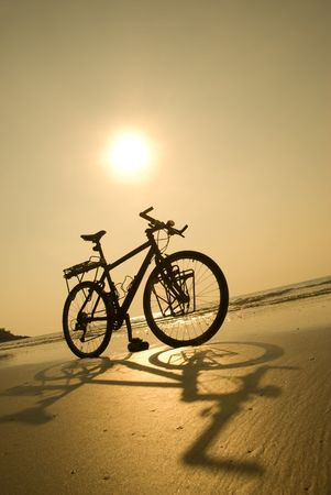 Beach bike Stock Photo - 3122673