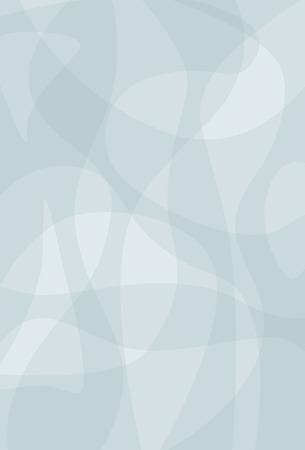 青の曲線図形の背景図のベクトル画像  イラスト・ベクター素材