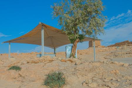 Ruiny twierdzy Masada, Izrael