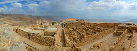 Ruins of Masada fortress, Israel