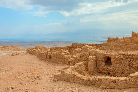 storied: Ruins of Masada fortress, Israel