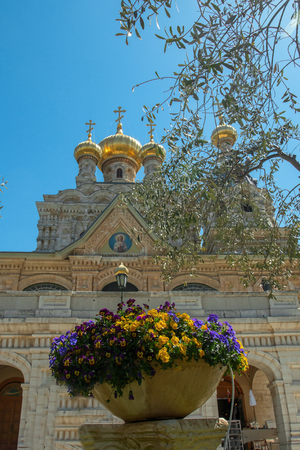sacrosanct: Church of Mary Magdalene, Jerusalem, Israel