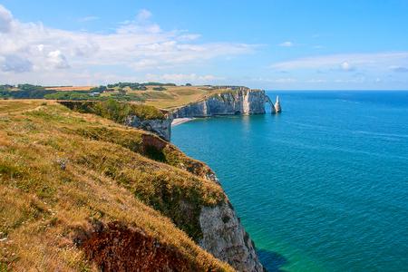 Limestone cliffs of Etretat