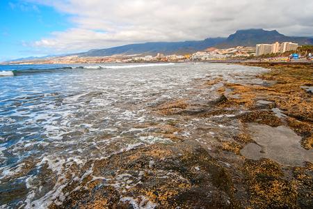 Atlantic coast of the island of Tenerife Stock Photo
