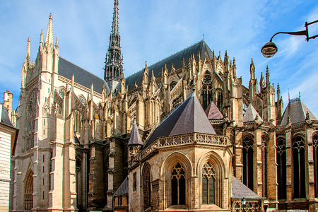 Amiens Cathedral is a Roman Catholic cathedral