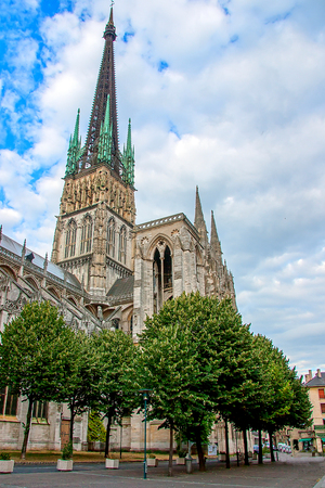 Rouen is the historical capital of Normandy