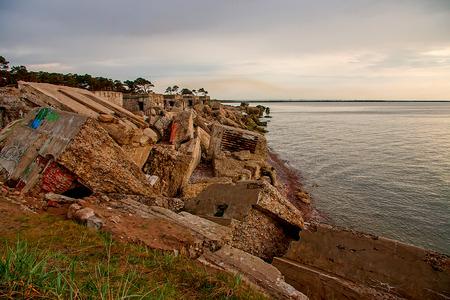 Old forts. Liepaja. Baltic Sea Coast