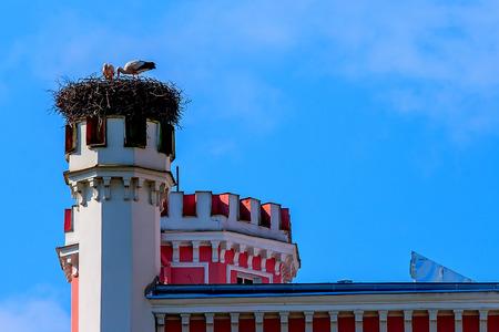 Birini 城。ラトビア