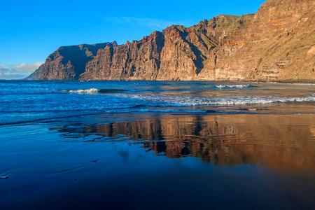 repose: Atlantic coast of the island of Tenerife Stock Photo