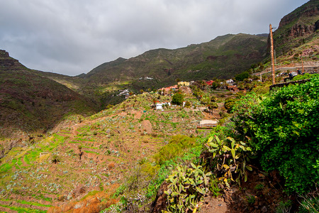 Masca village. Canary Islands. Tenerife. Spain