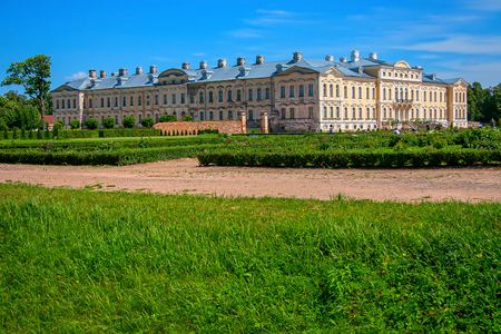 Rundale Palace. Latvia Editorial