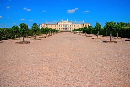 rundale: Rundale Palace. Latvia Editorial