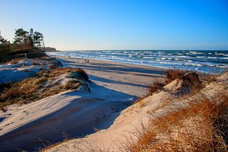 Baltic Sea coast. Bernati