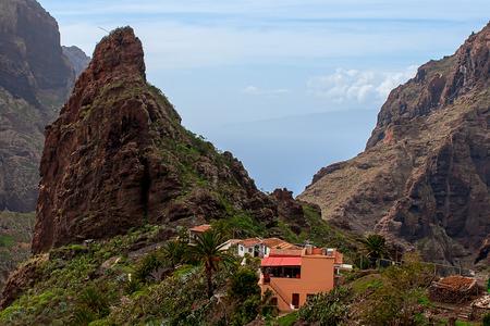 Masca 村。カナリア諸島。テネリフェ島。スペイン