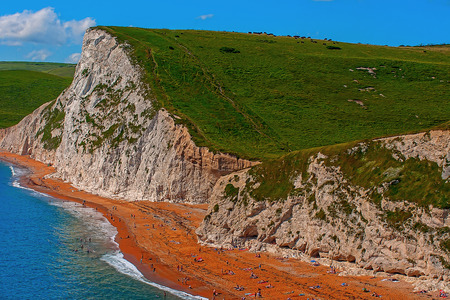 Durdle Door, Dorset, Jurassic Coast, England, United Kingdom