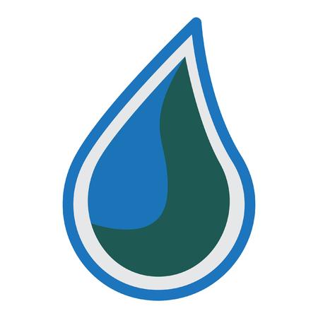 drops of water: water logo design
