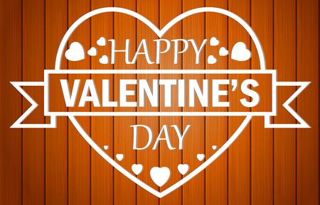 Happy valentines day . vector illustration