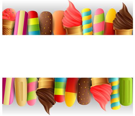 Ice cream border