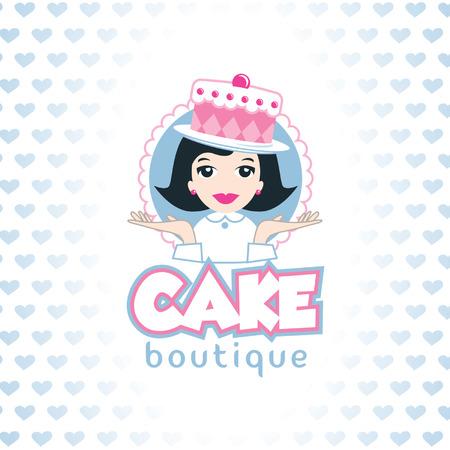 Cake Shop template, cake boutique