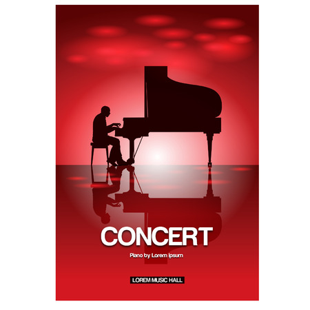 piano concert poster