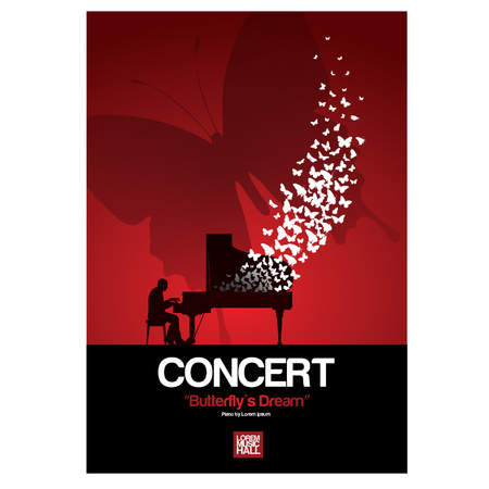 piano concert posters