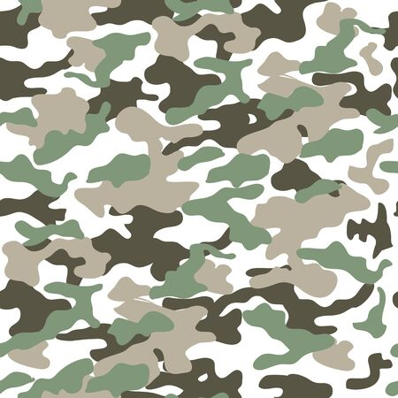 Wzór kamuflażu, nadruk munduru wojskowego, tło, armia, żołnierz Ilustracje wektorowe