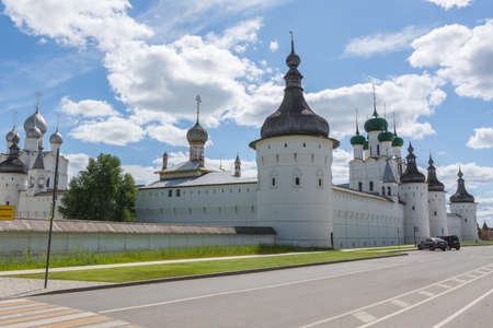 Russia June 30, 2020 Rostov, view of the Rostov Kremlin, photo taken on a sunny summer day