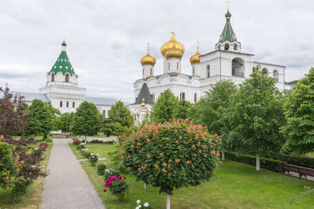 Russia June 29, 2020 Kostroma, view of the Trinity Cathedral, photo taken on a sunny summer day Sajtókép