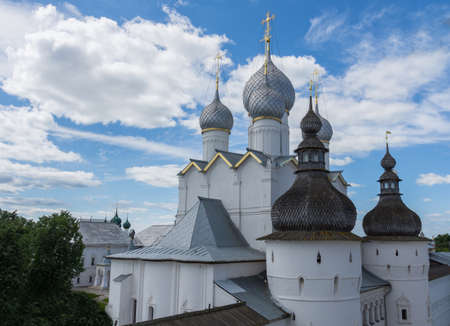 Russia June 30, 2020 the city of Rostov the Great, view of the Resurrection Church, photo taken on a sunny summer day Sajtókép