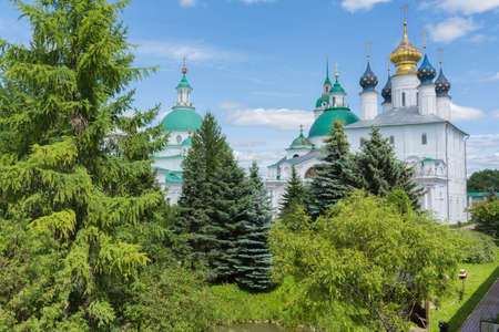 Russia June 30, 2020 the city of Rostov the Great, view of the Anniinsky Cathedral, photo taken on a sunny summer day Sajtókép