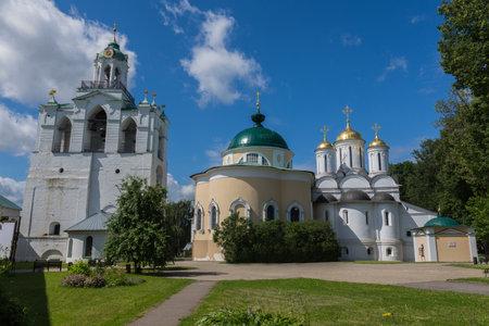 Russia July 2, 2020 Yaroslavl, view of the Church of the Yaroslavl wonderworkers, photo was taken on a sunny summer day Sajtókép