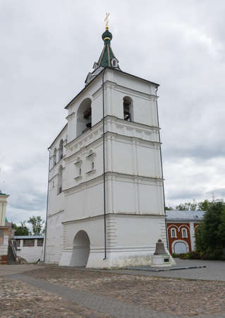 Russia June 29, 2020 Kostroma, view of the belfry in the Ipatev Monastery, photo taken on a sunny summer day Sajtókép