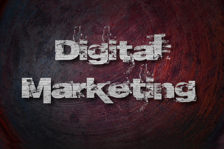 Digital Marketing, concept sign photo