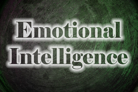 equanimity: Emotional Intelligence Text on Background
