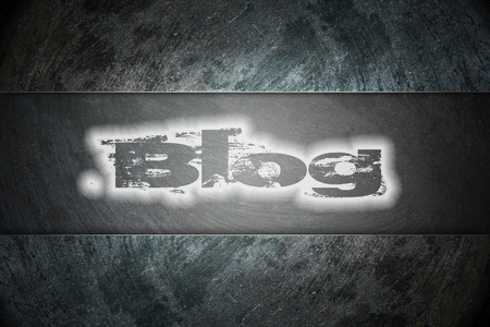 podcasts: Blog text on background