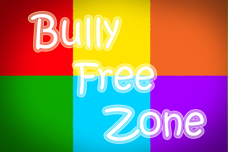 Bully Free Zone Concept photo