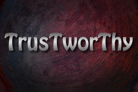 trustworthy: Trustworthy Concept