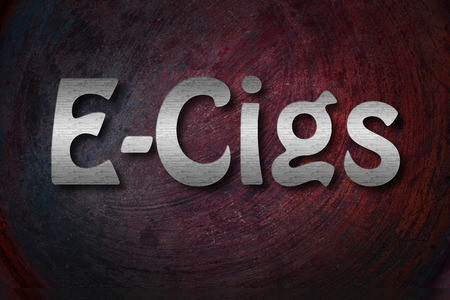 background e cigarette: Electronic Cigarette Concept
