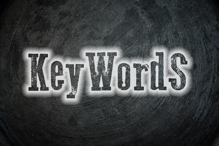 meta: Keywords Concept