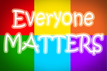 everyone:  Everyone Matters Concept text