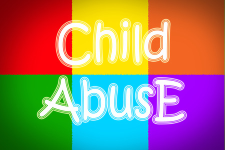 pedophilia: Child Abuse Concept text