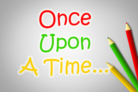 phrase novel: Once Upon A Time.. text