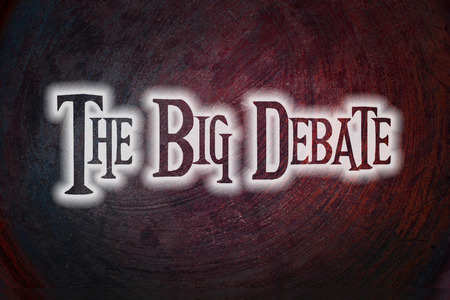 standpoint: The Big Debate Concept text
