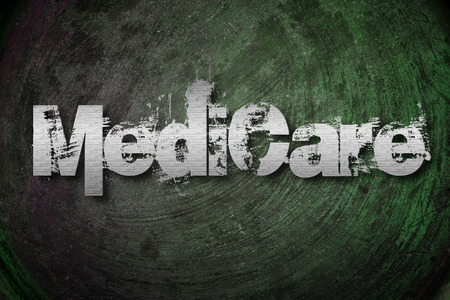 Medicare Concept text photo