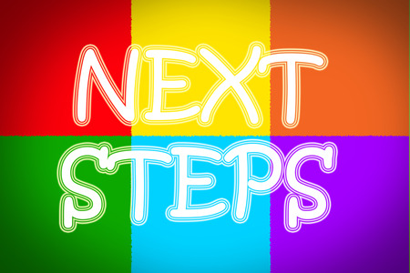 Next Steps Concept text