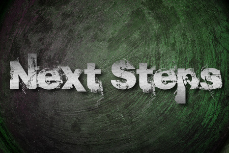 next stage: Next Steps Concept text